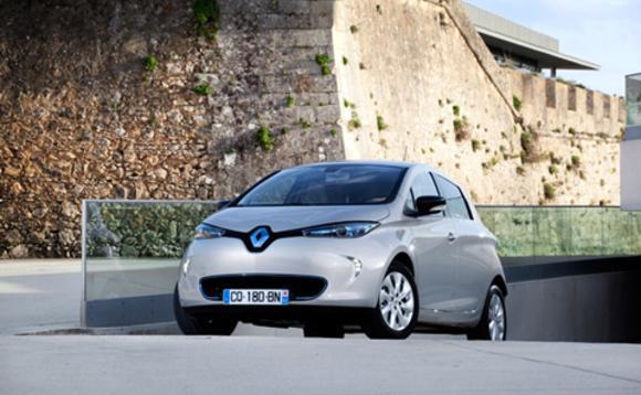 雷诺计划建太阳能电动汽车智能充电网高清图片