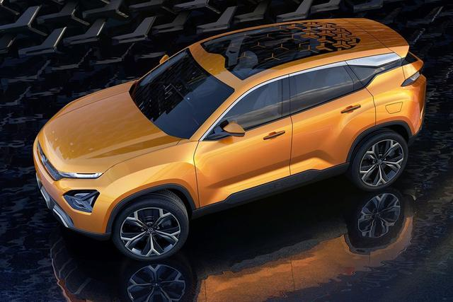 塔塔H5X概念车官图发布 外形比极光更抢眼