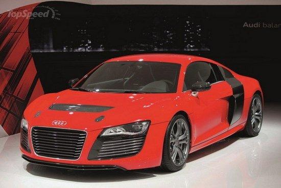 新奥迪A3/R8 e-tron电动跑车将于明年上市