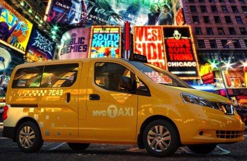 """日产NV200当选纽约市""""未来出租车"""""""