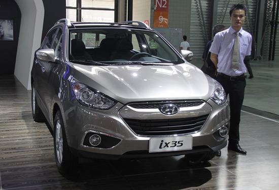 [腾讯行情]上海 北京现代ix35现金降2万元