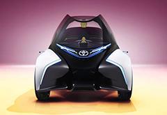 丰田发布i-TRIL概念车:一辆日本人给欧洲人设计的车