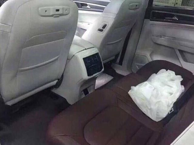 威猛大气 大众全新7座中型SUV无伪实车曝光