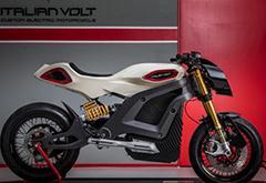 配3D打印零部件 意大利公司发布定制电动摩托