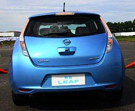 真正零排放 腾讯体验日产电动车聆风
