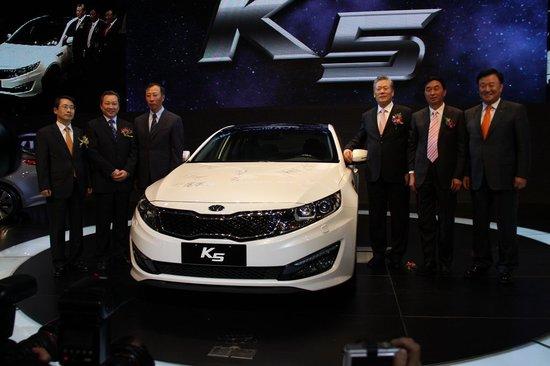 东风悦达起亚K5上市 售15.98-24.98万元