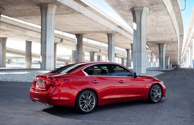 英菲尼迪推两款新车 2016款Q50和改款QX60