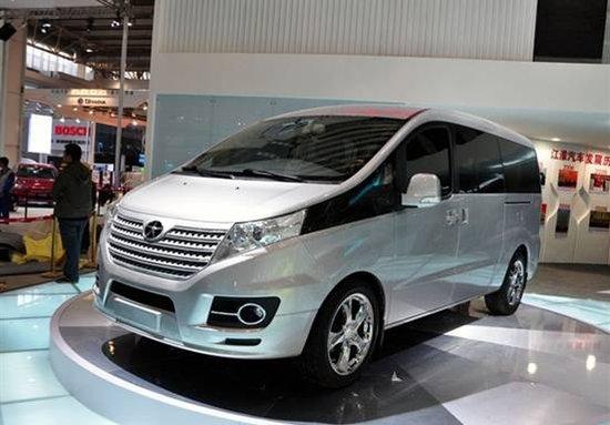 上海车展上市 江淮和畅定位高端MPV市场