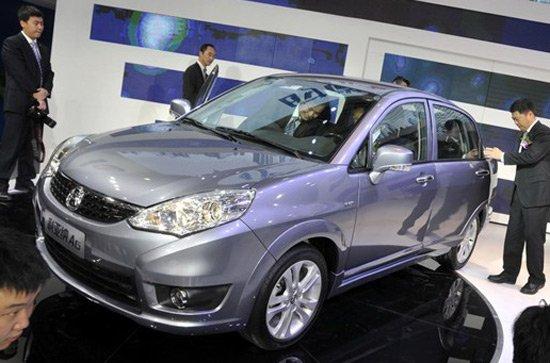 昌河铃木利亚纳A6车型上海车展发布