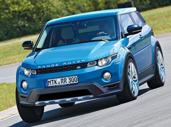 [海外车讯]路虎小型SUV效果图 未来或国产
