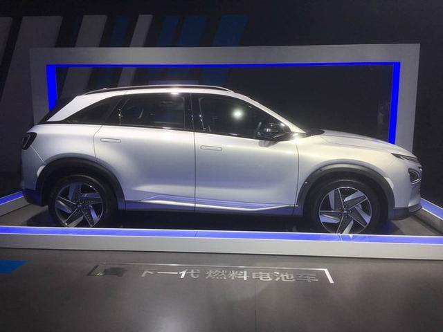 北京现代全新燃料电池车 广州车展公布