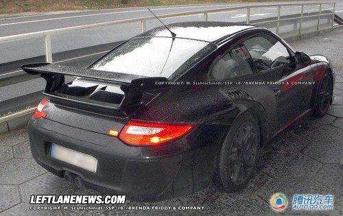 保时捷911 GT3 Hybrid道路版谍照曝光
