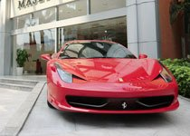 法拉利458 Italia领略激情与急速的快感