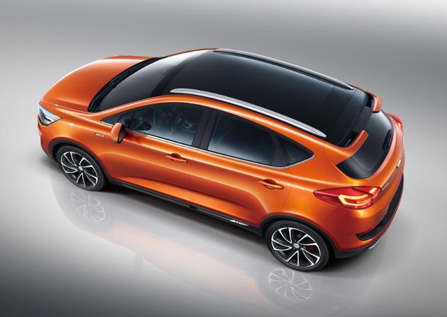 吉利首款跨界SUV官方图发布 命名帝豪GS