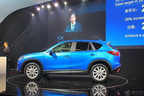 [新车解析]马自达SUV车型CX-5亮相北京车展