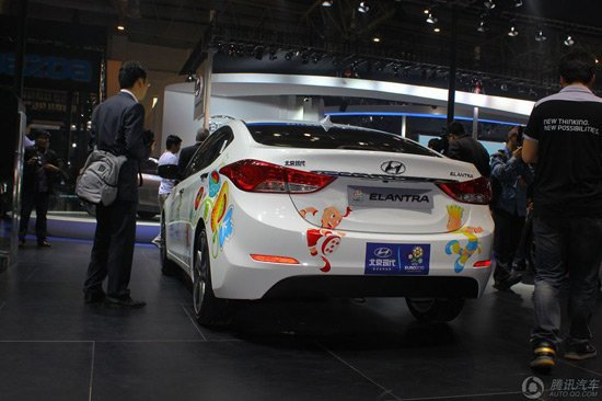 现代朗动亮相北京车展 搭两款全新发动机