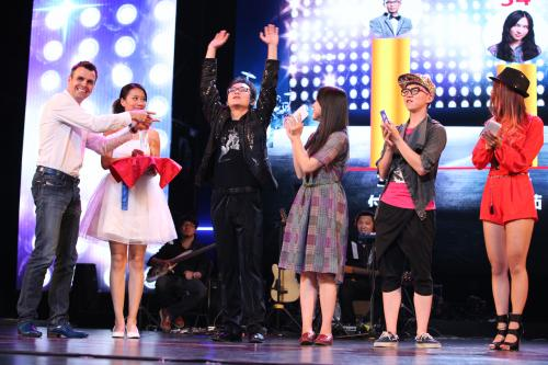 引吭高歌 一汽-大众校园音乐会唱响京城