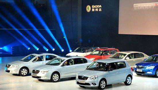 斯柯达3款5周年典藏版车型成都车展上市