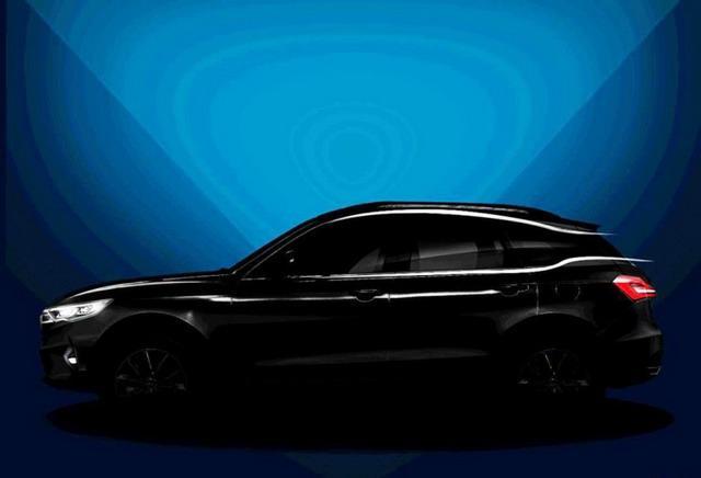 众泰全新SUV车型内饰效果图 科技感十足