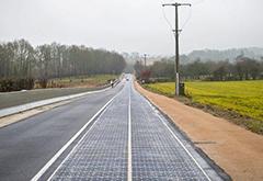 浙江建全球最大太阳能道路 电动汽车或将边行驶边充电