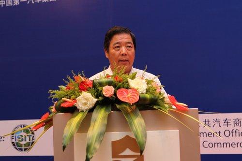 中国汽车工程学会常务副理事长兼秘书长 付于武