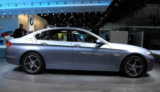 宝马5系混合动力版车型北美车展亮相