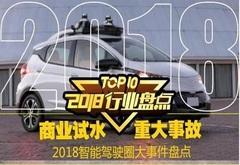"""有惊有喜 2018年智能驾驶圈十宗""""最"""""""