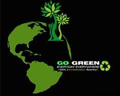 益车贴设计大赛:GO GREEN
