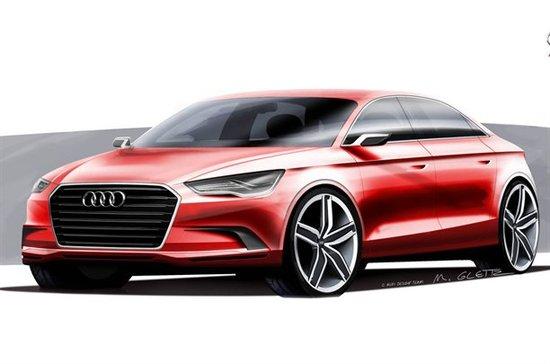 有望引入国内 奥迪新一代A3三厢预览版将发布
