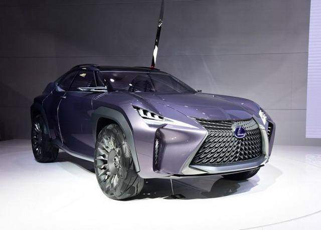 定位紧凑型SUV 雷克萨斯UX有望2018年亮相