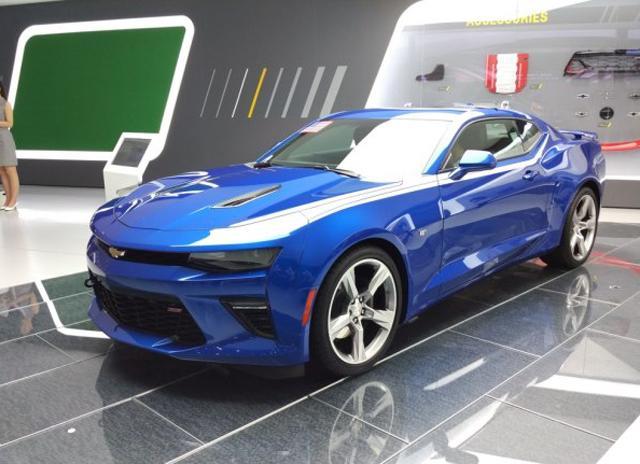 科迈罗SS版上海车展首发亮相 汽车殿堂