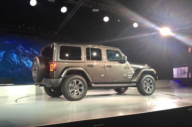 Jeep将推插电混合动力版牧马人 2020年亮相