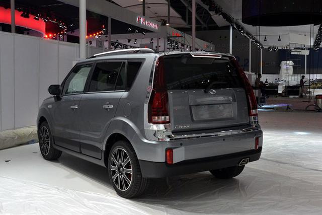 中兴小型SUV GX3亮相广州车展 或年底上市