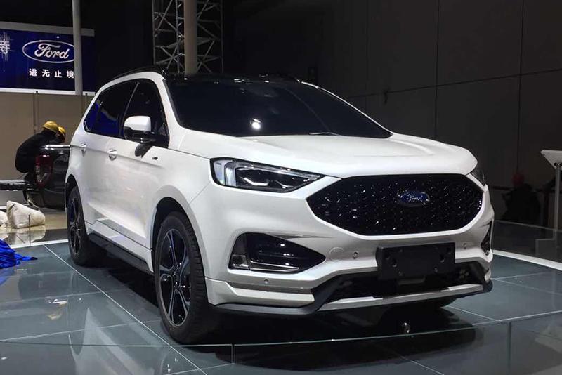 车展探营:运动风格高性能SUV 新款锐界ST实车