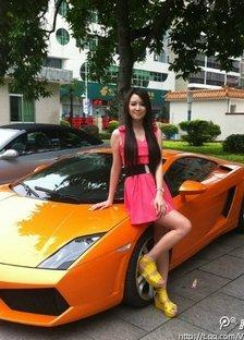中国车模大赛巡游