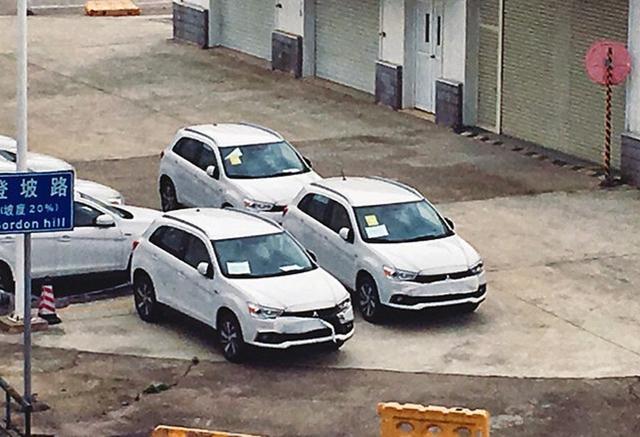 曝国产新款劲炫ASX实车 下月北京车展上市