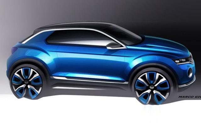 大众T-ROC概念车将发布 定位小型跨界SUV