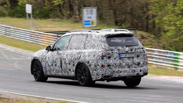 宝马X7概念车车型有望9月法兰克福车展亮相