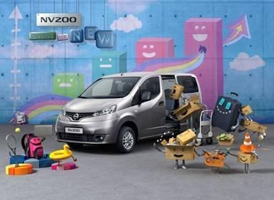 郑州日产NV200――打击面很广