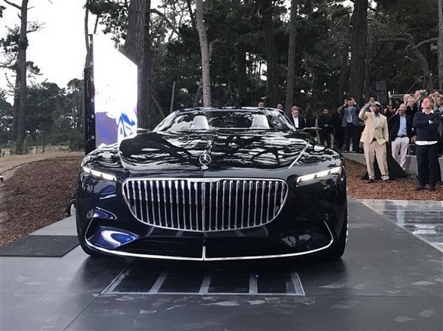 富豪们多了新选择 迈巴赫6敞篷版观点车表态