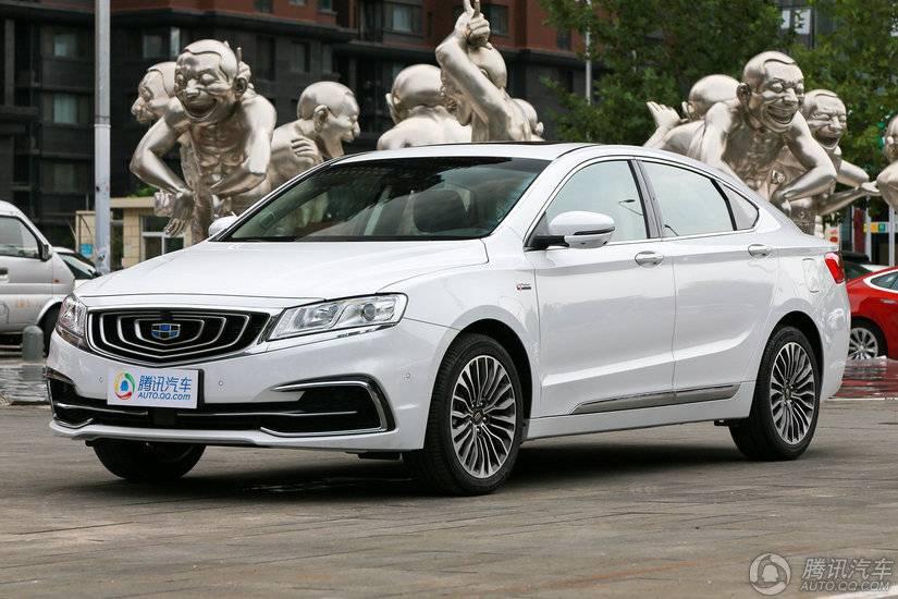 [腾讯行情]安庆 吉利博瑞购车优惠达1万元
