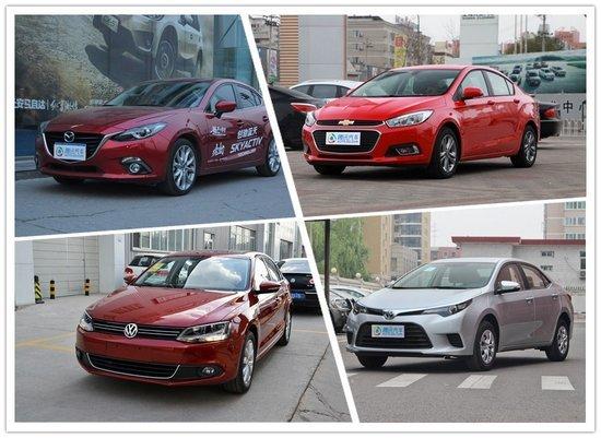 四款主流紧凑三厢车 你会如何选择