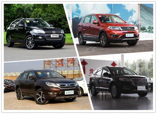 低门槛很实用 四款1.5T中国品牌SUV推荐