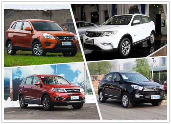 犹如百家争鸣 四款中国品牌紧凑SUV推荐