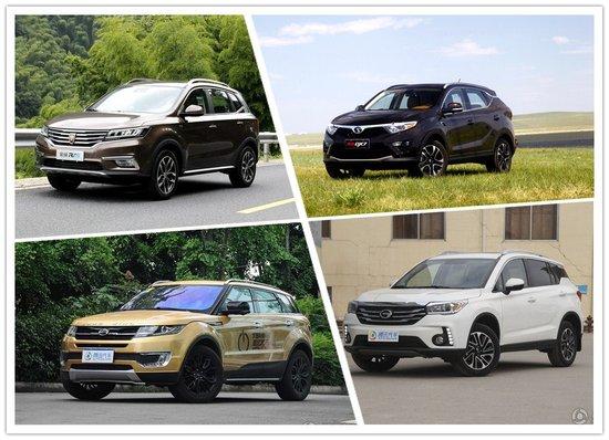 高颜值中国品牌SUV 四款10-15万SUV海选