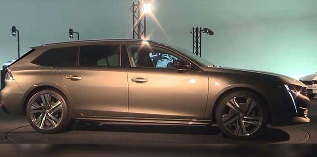 全新标致508 SW车型官图曝光 或将于巴黎车展发布