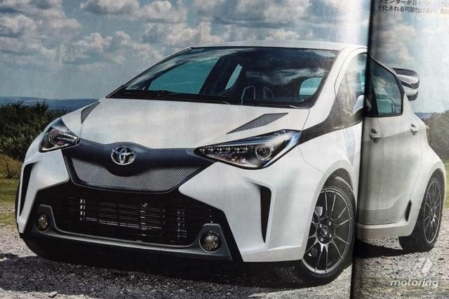 丰田计划推高性能版雅力士 搭载2.0T动力
