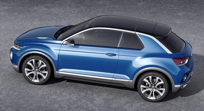大众将推全新T-Cross车型 定位低于Tiguan