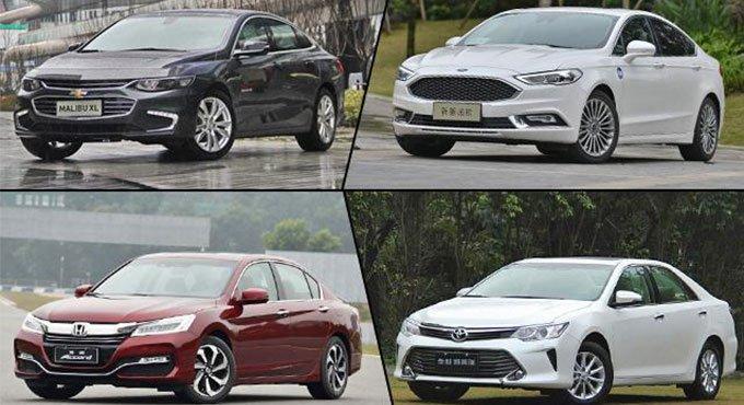 四款热销家用中级车推荐 价格实惠品质高