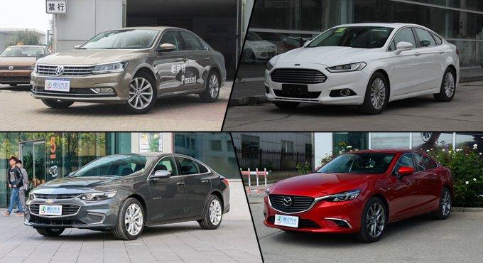 [导购]2017款全面上市 四款全新热门中级车推荐